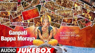 Ganpati Bappa Moraya  Bollywood Ganpati Special Songs  Audio Jukebox  T-series