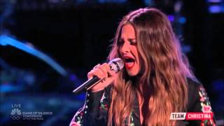 Alisan Porter - The Voice Season 10 Live Playoffs: Cry Baby (HD)