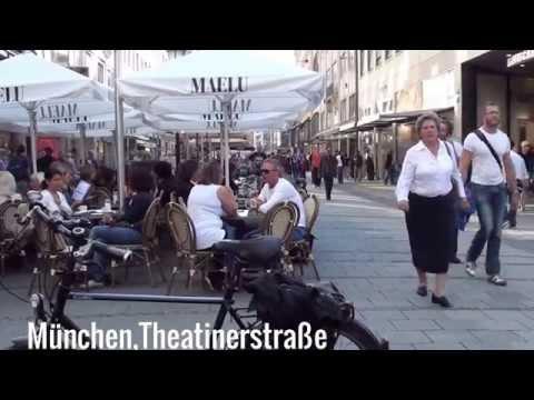 München,Munich Germany,City und Umgebung mit Text