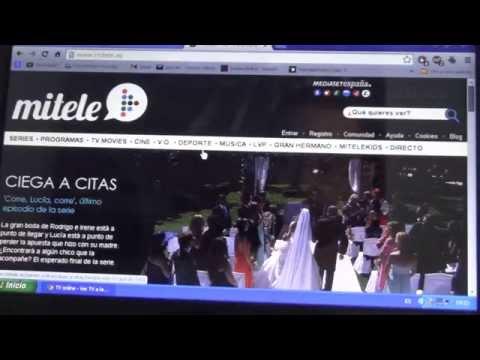 Video tutorial mitele - YouTube