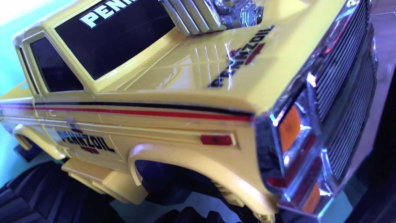 vintage rc ford monster truck 4x4 f-150 penzzoil jrl toys 4 sale ...