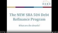 What You Need to Know About the NEW SBA Debt Refinance Program