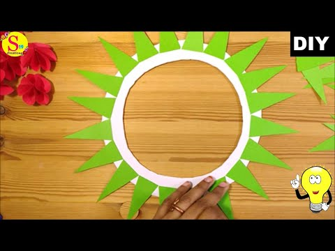 Diy Christmas wreath using paper  | How to make Christmas wreath