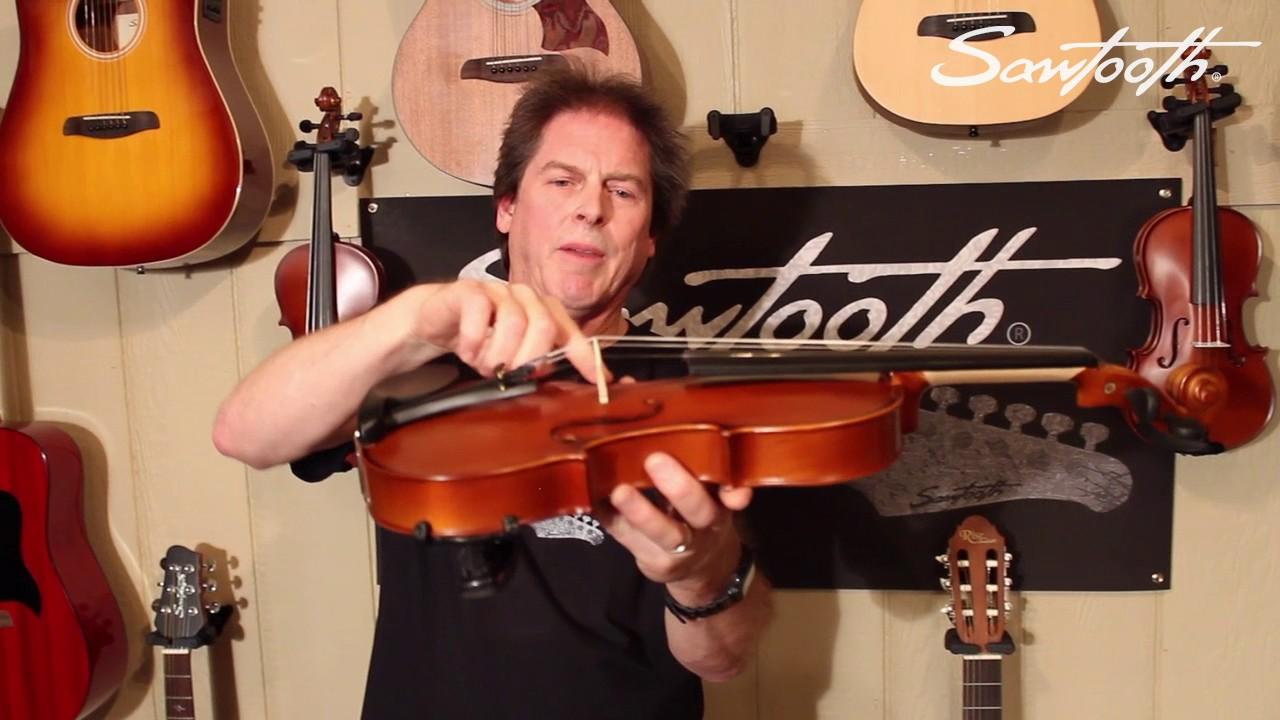 Violin Endknopf Ebenholz oder Palisander// Violin endbutton ebony or rosewood