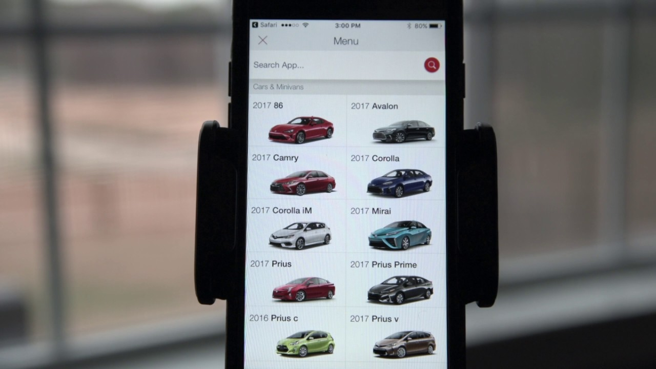 Toyota Pocket Source App >> Toyota Pocket Source App A Brief Guide