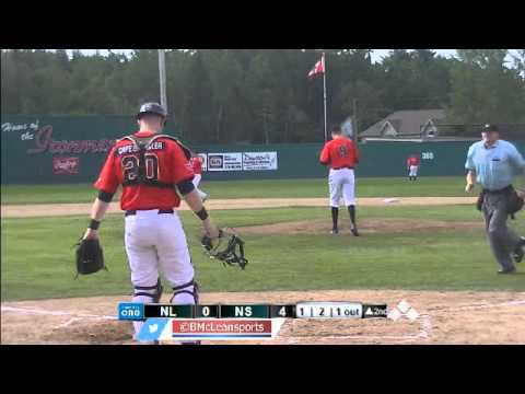 Baseball Canada Senior Nationals: St. John's vs Sydney