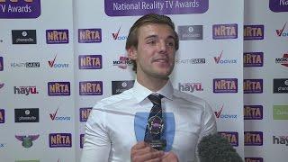 Reality TV Awards: Love Island's Nathan is 'so happy I can't explain it'