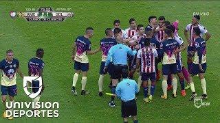 ¡Pelea en el Clásico Nacional! América ...