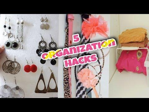 5 CHEAP Hacks To Organize A Small Closet  Organization Hacks for Closet  Wardrobe Organisation Ideas