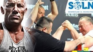 Robert Burneika ( Hardkorowy Koksu ) - Arm Wrestling Galeria Solna Inowrocław 2017 Video