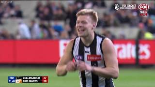 Collingwood vs GWS Giants Semi final 2018 All the goals, behinds & highlights 1stHALF