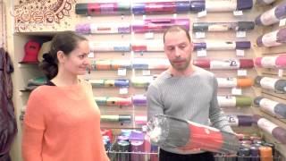 видео где купить коврик для йоги