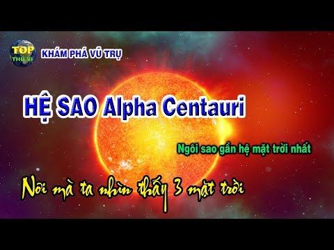 Ngôi Sao Gần Hệ Mặt Trời Nhất Hệ Sao Alpha Centauri   Khoa Học Vũ Trụ - Top Thú Vị  