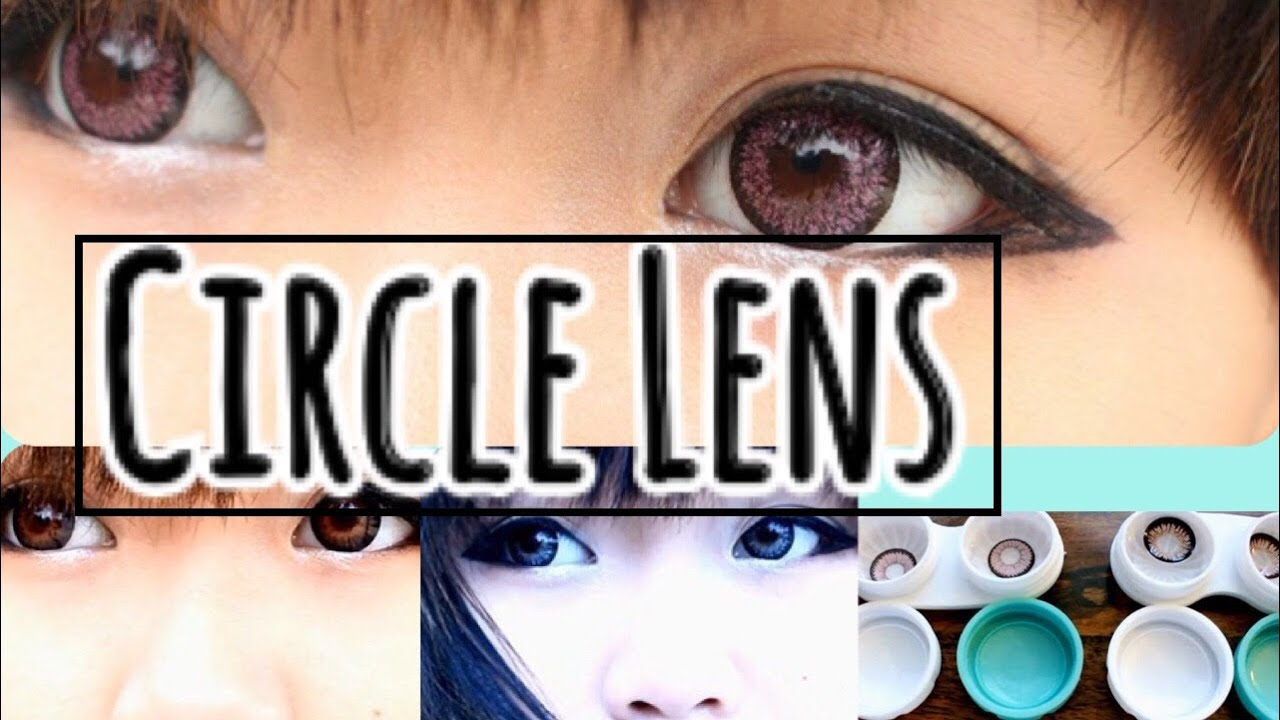 75e78ee3411 Eyecandy s.com First Circle Lens Review (4 pairs) - YouTube
