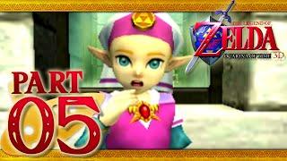 The Legend of Zelda: Ocarina of Time 3D - Part 5 - Princess Zelda