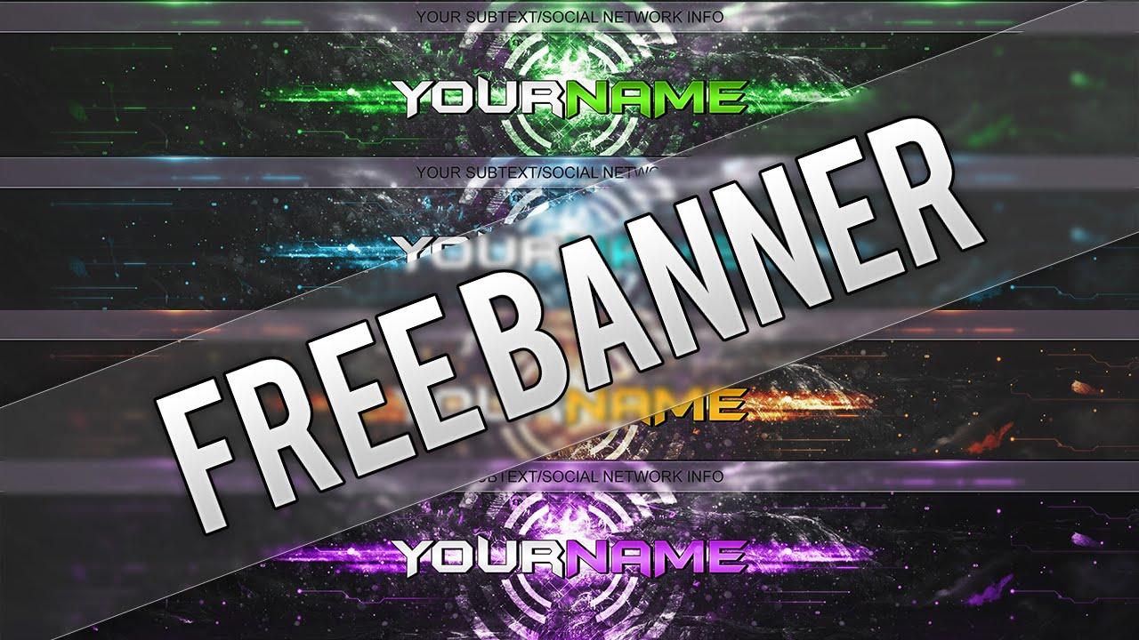 good youtube banners