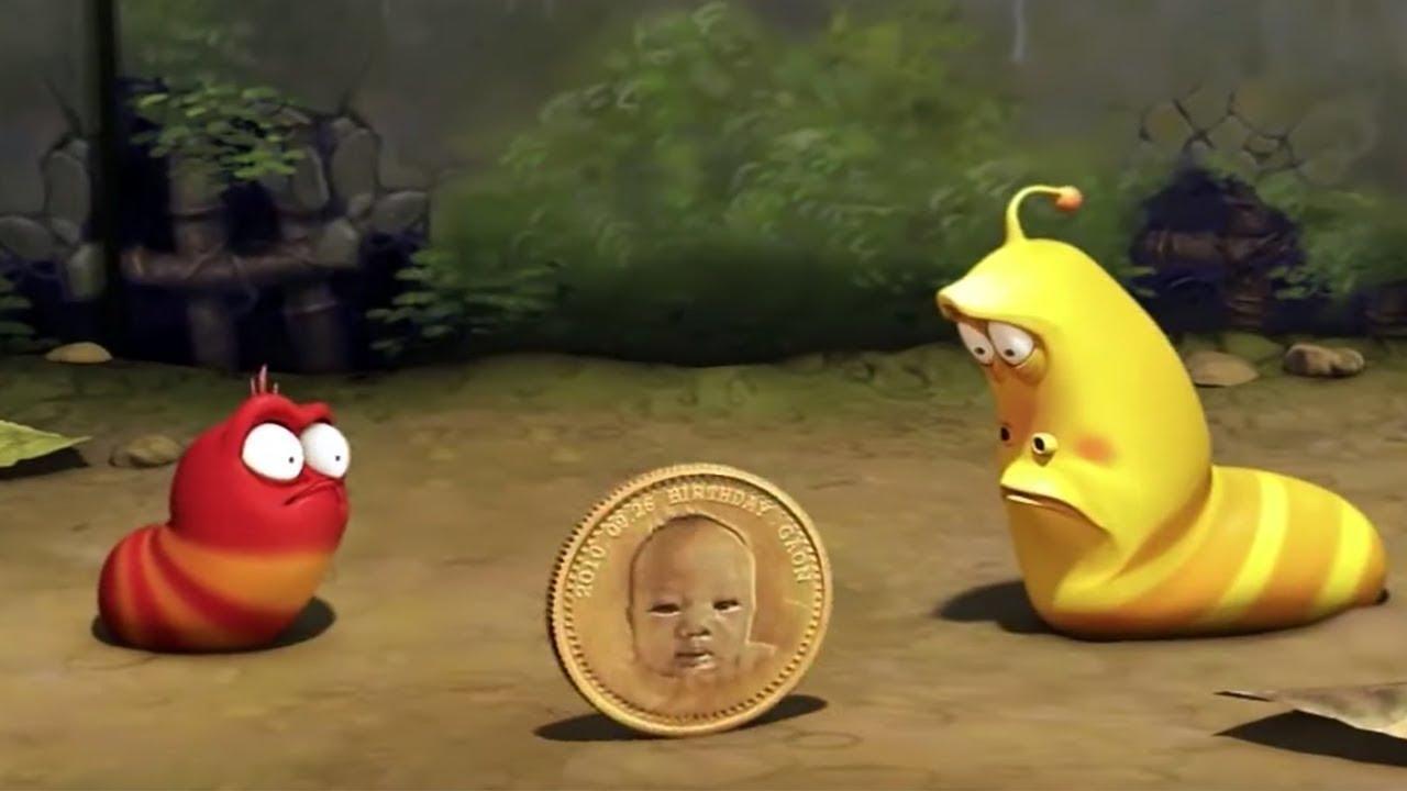 Larva la moneta film completo cartone animato per