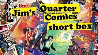 Jim's Quarter Comics short box