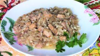 Ароматное, сытное и очень вкусное блюдо из квашеной капусты с мясом. Мульгикапсад .