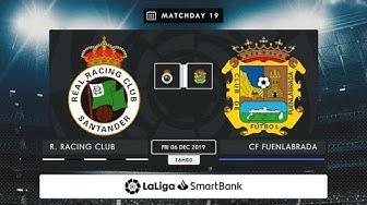R. Racing Club - CF Fuenlabrada MD19 V1600