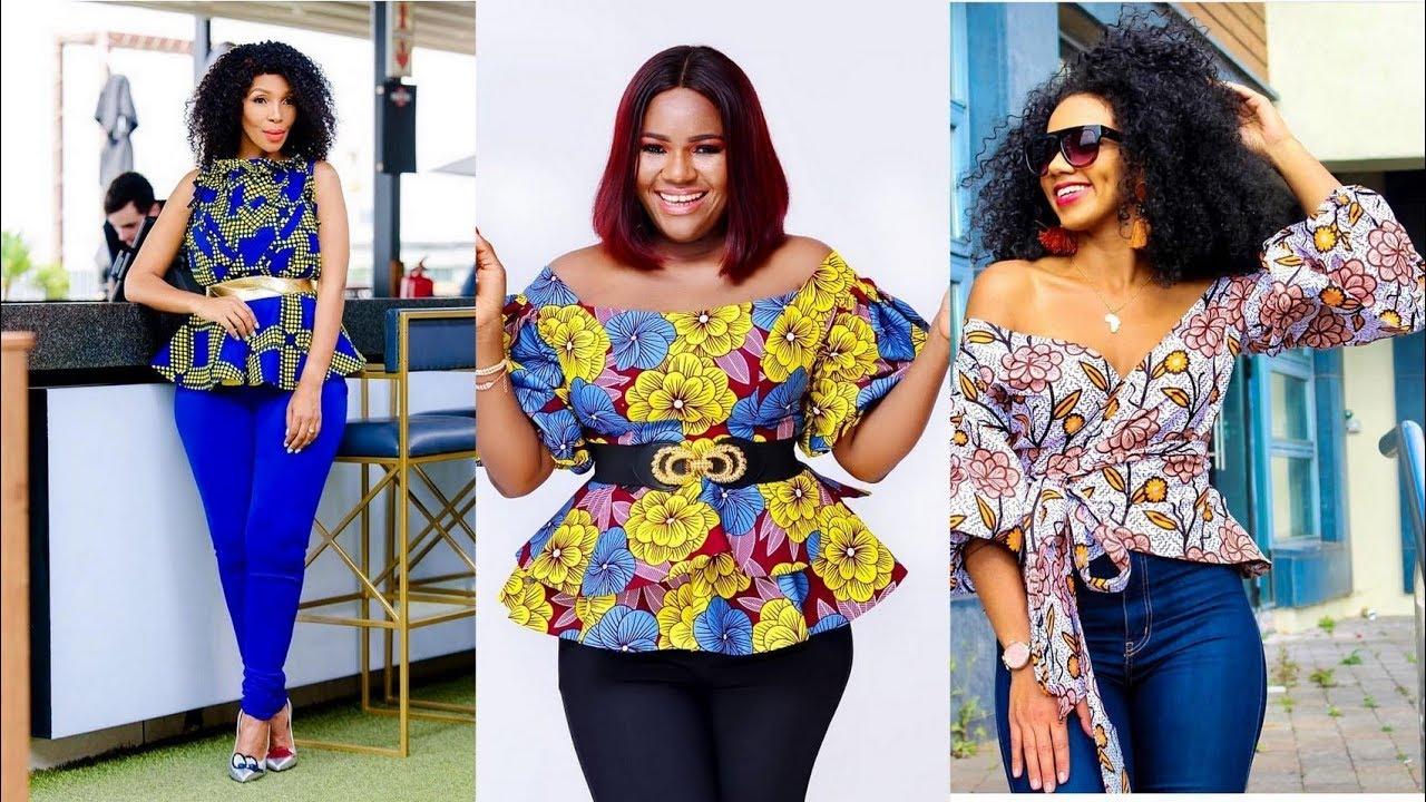 77972f6138aac1 2019 #African Fashion Collections: Best #Ankara Peplum Tops For Women -  Oluchi J