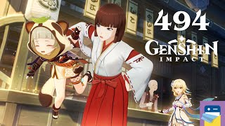 Genshin Impact: Sayu Hangout #5 - Update 2.2 - iOS/Android Gameplay Walkthrough Part 494