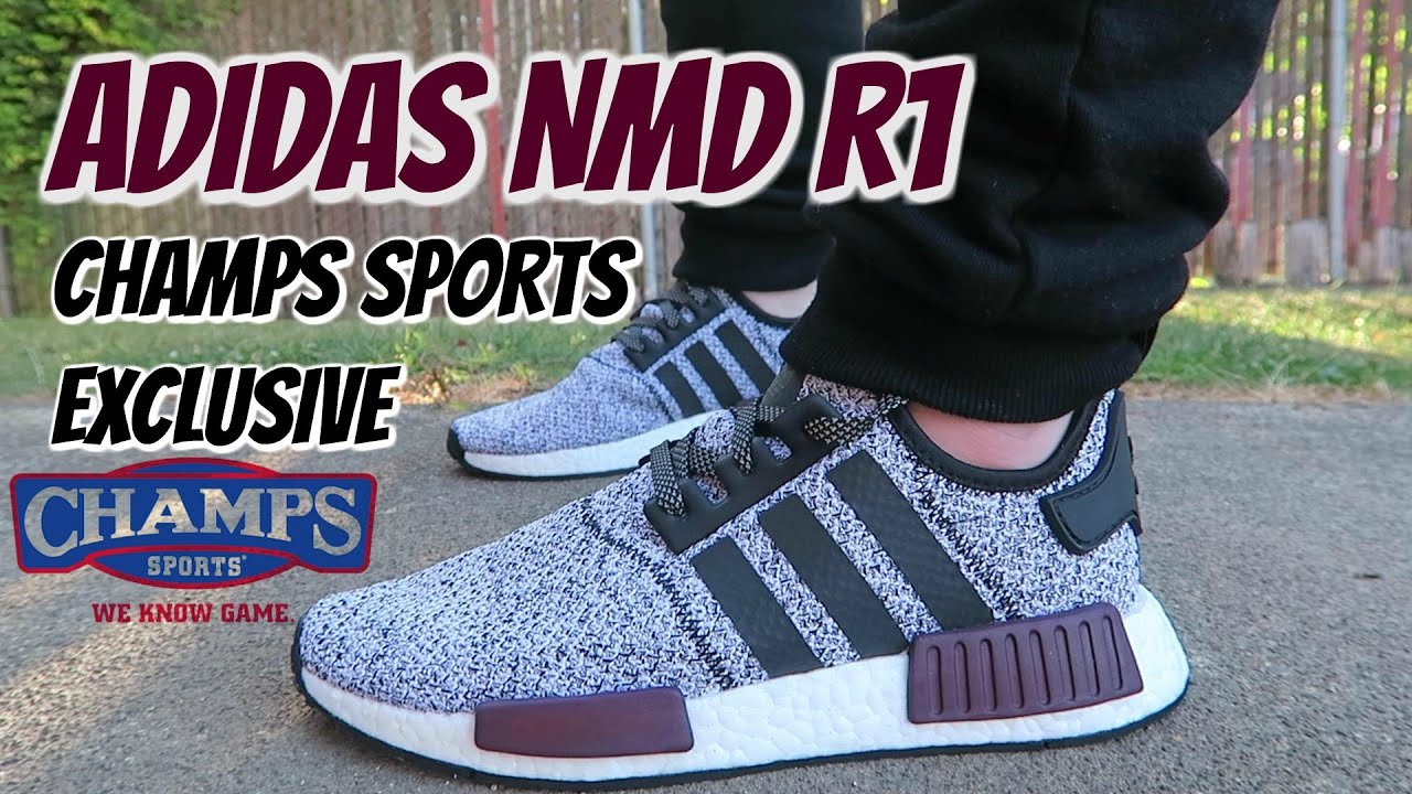 bd4be7405 ADIDAS NMD R1 - CHAMPS EXCLUSIVE - YouTube