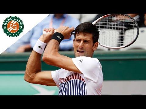 Novak Djokovic - Top 5 Roland Garros 2017
