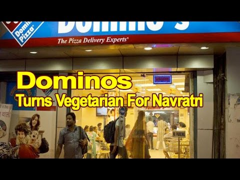 500 Domino's outlets to turn vegetarian during Navratri : NewspointTV