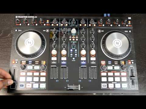 Native Instruments Traktor Kontrol S4 MK2 Digital DJ Controller Review & Demo Video