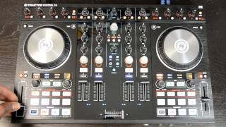 Native Instruments Traktor Kontrol S4 MK2 Digital DJ Controller Review & Demo Video