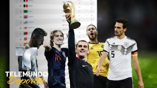 El Ranking FIFA y sus primeros estragos | Copa Mundial de la FIFA Rusia 2018 | Telemundo Deportes