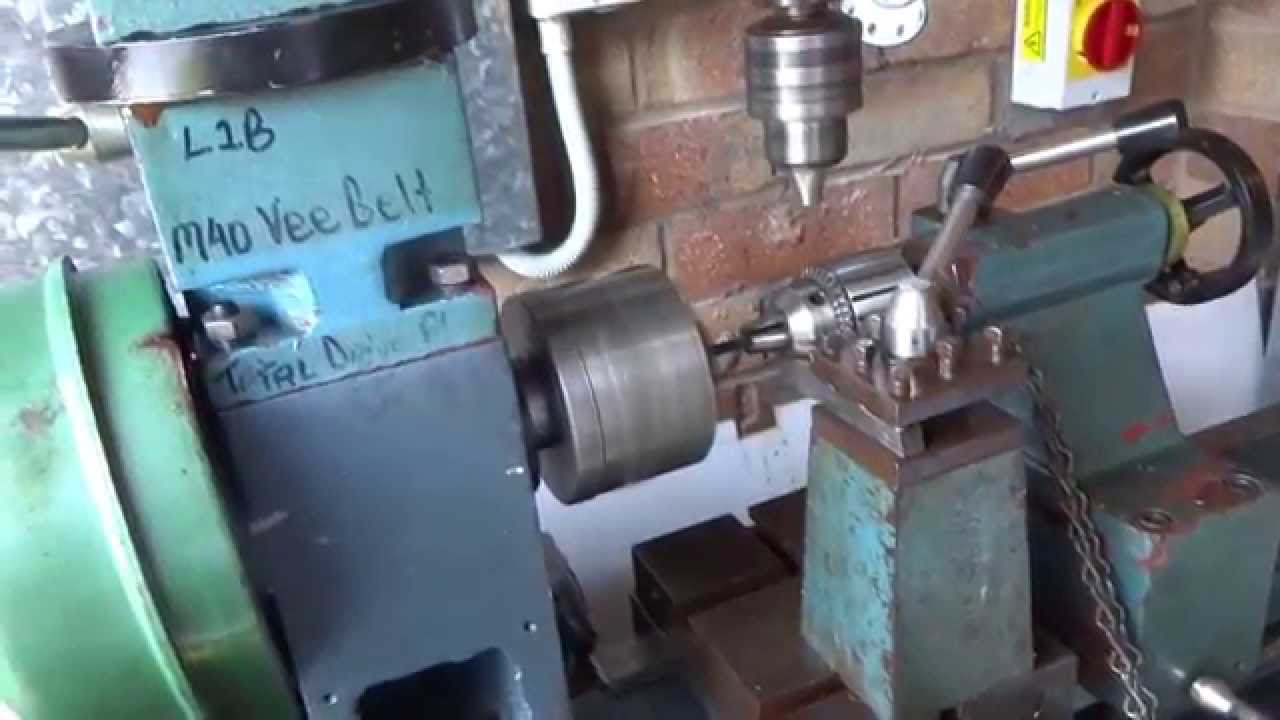 Old Chinese Hq400 Lathe Mill Restored To Operation