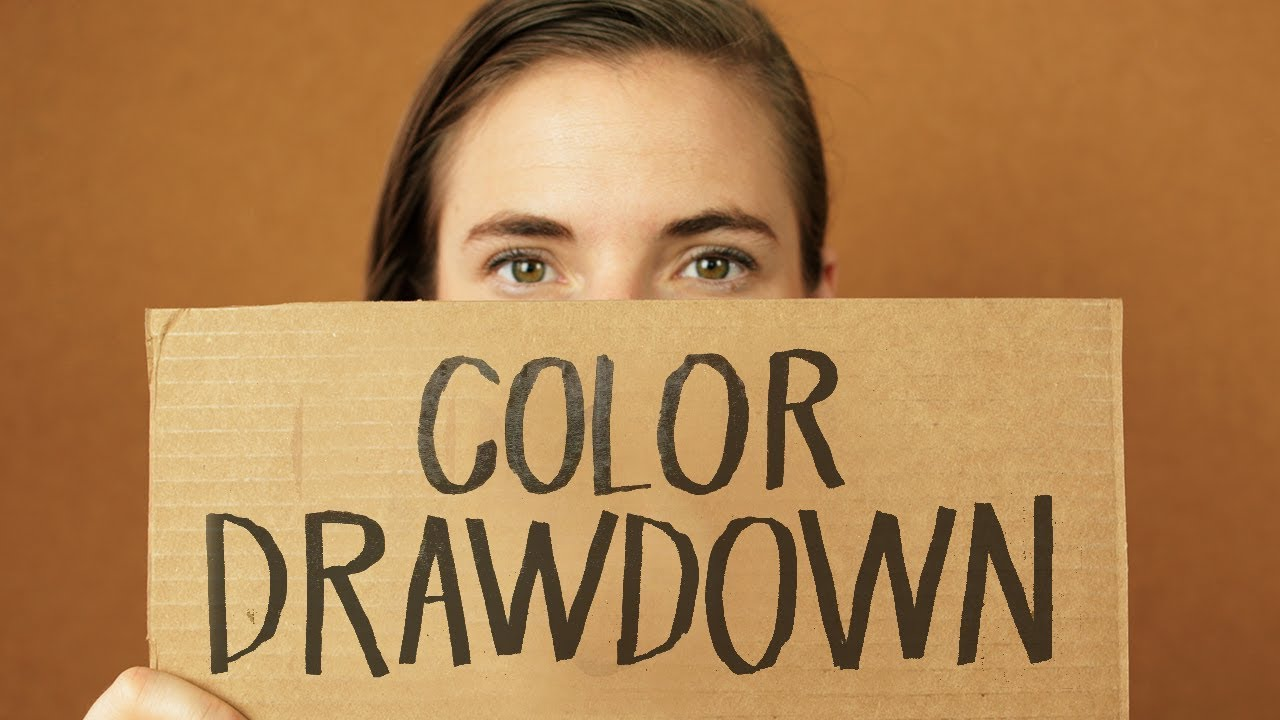 Color drawdown - What Is A Color Drawdown