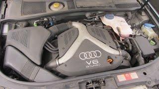 Работа двигателя Audi Allroad (A6 C5) с двс BES
