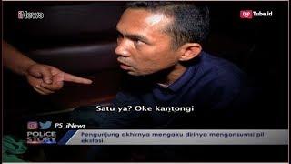 Gemetar Saat Digeledah Polisi, Pria Ini Akui Konsumsi Pil Ekstasi Part 01 - Police Story 13/11