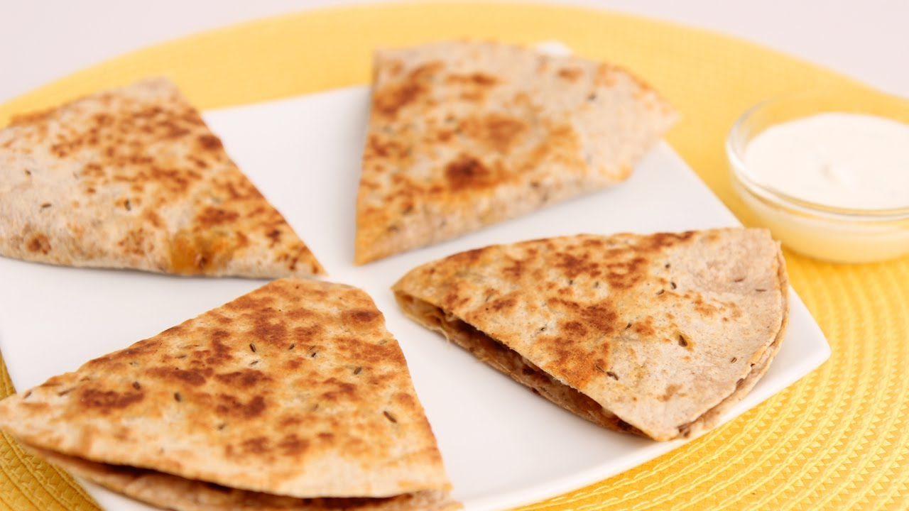 Sweet Potato & Chorizo Quesadilla Recipe - Laura Vitale - Laura in the Kitchen Episode 644