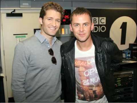 Glee's Matthew Morrison interview Part 1/2 - Scott Mills BBC Radio 1