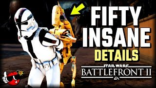 50 INSANE DETAILS on Naboo - Star Wars Battlefront 2 Theed Capital Supremacy *NEW MAP*