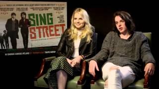 Lucy Boynton Ferdia Walsh Peelo Sing Street Interview