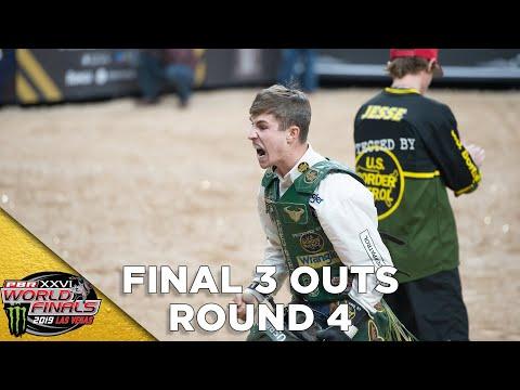 FINAL THREE OUTS: PBR World Finals Round 4 | 2019