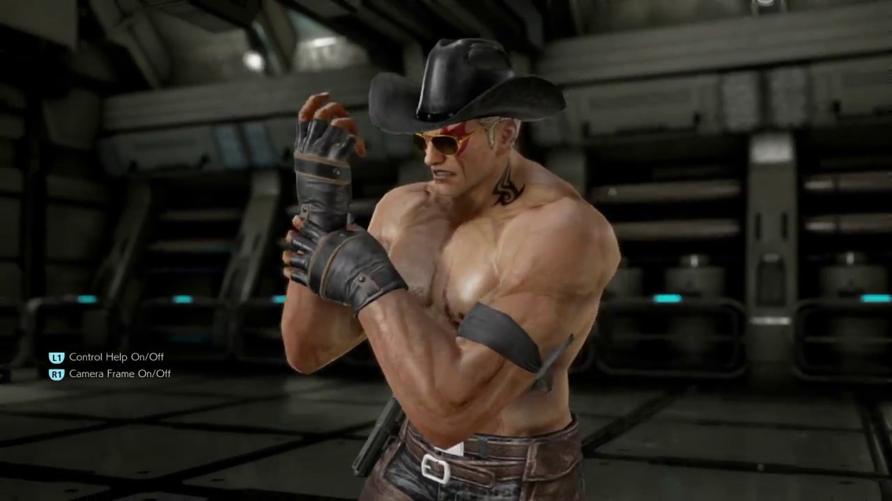 Bryan Fury Customization Tekken 7 Ps4 4k Resolution Youtube