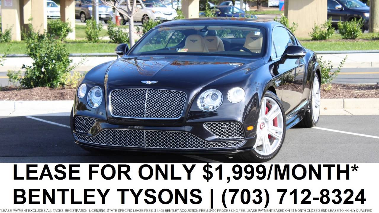 Bentley Continental GT V S Lease Month Bentley - Bentley continental lease