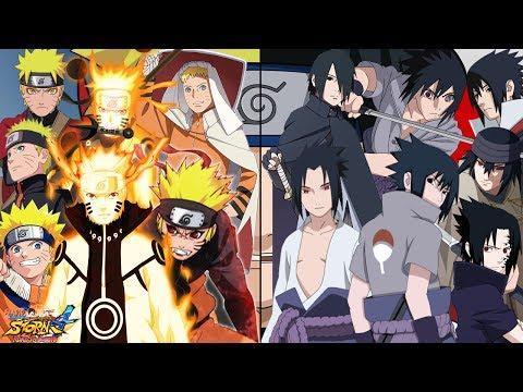 Naruto Uzumaki Vs Sasuke Uchiha - A Batalha Final - Naruto Storm 4 RTB Dublado PT-BR (COM vs COM)