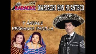 KARAOKE - Y ÁNDALE - MARIACHI SON HUASTECO - CEL: 3103894524