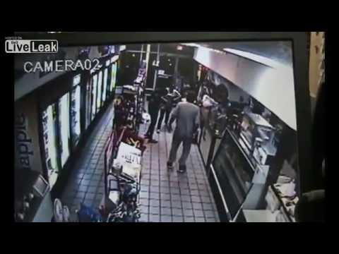 LiveLeak - 2 Women Stabbed At Miami Beach Market