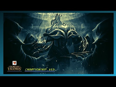 LEAGUE OF LEGENDS: Championship Zed new shadow play