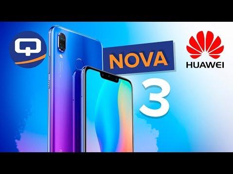 Huawei Nova 3 / NEW! / Первые впечатления / QUKE.RU /