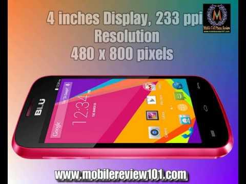 BLU Dash JR 4 0 K Full Video Review