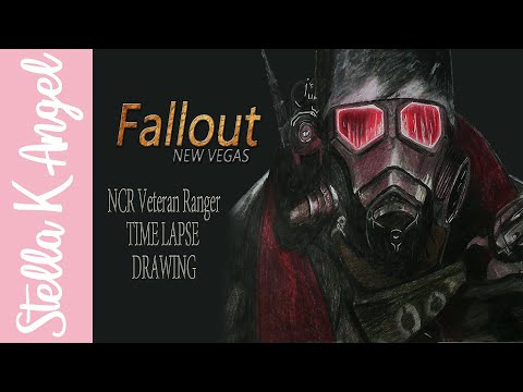Fallout New Vegas| NCR Veteran Ranger - Time Lapse Drawing